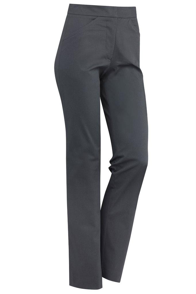 captains trousers - dark grey denim (bukse)