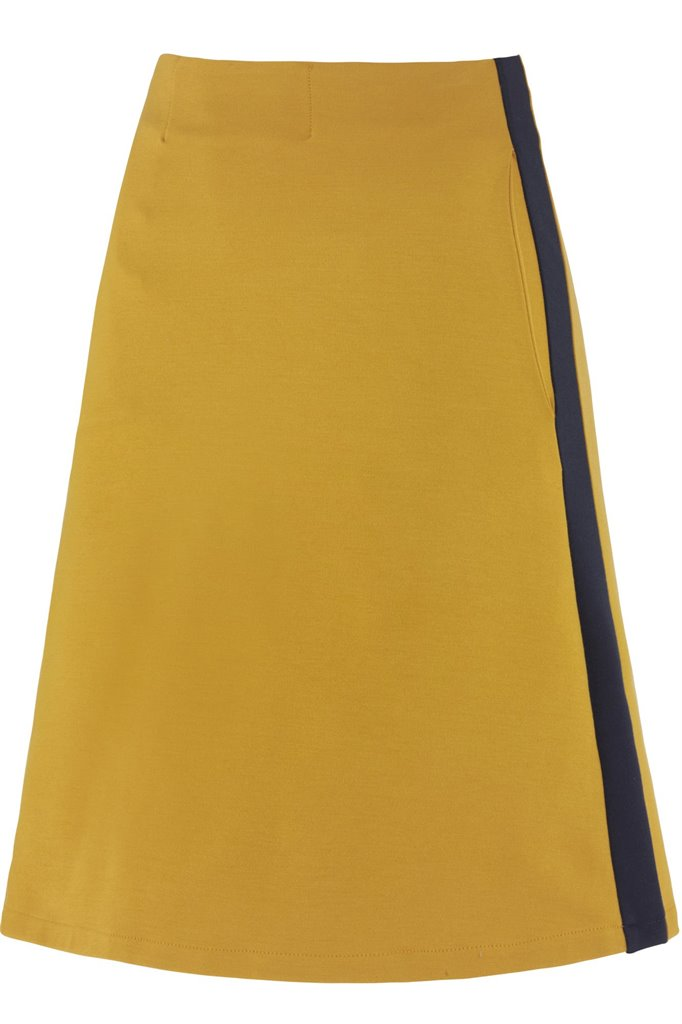 Kill Bill skirt - mustard (skjørt)