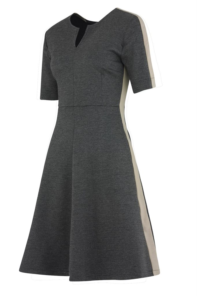 Kill Bill dress - grey (kjole)