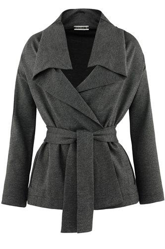 Kill Bill wrap jacket - grey (jacket/cardigan)