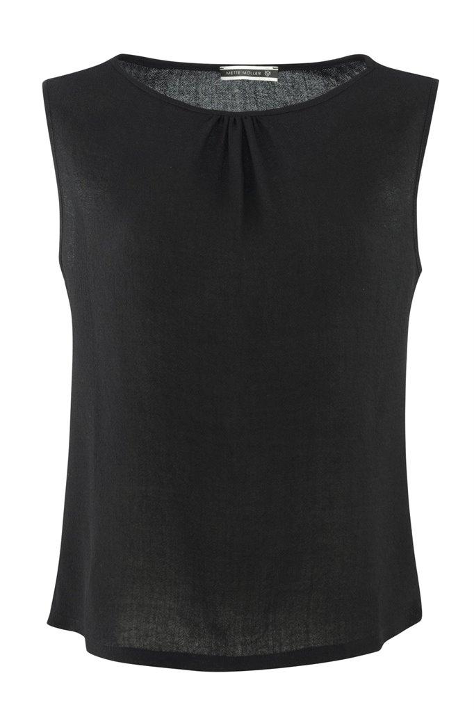 Smoothie top black - black (topp)
