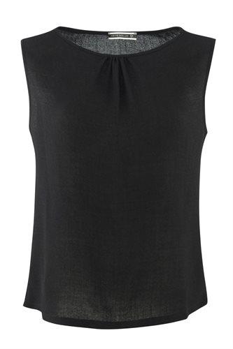 Smoothie top black - black (top)