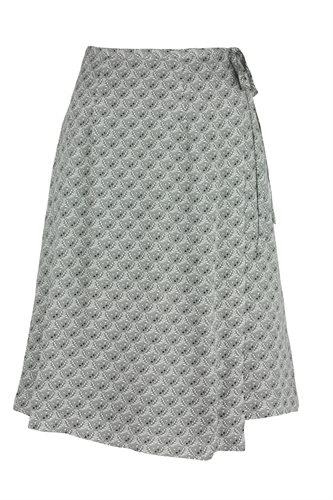 Smoothie wrap skirt print - grey (skirt)
