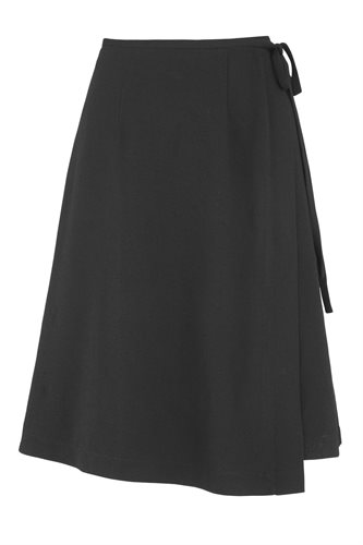 Smoothie wrap skirt black - black (skirt)