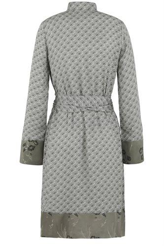 Smoothie shirt dress print - gray back (dress)