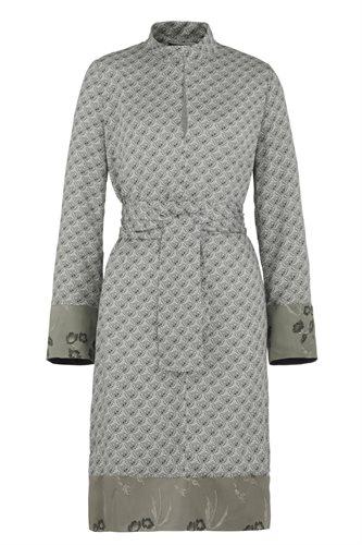 Smoothie shirt dress print - grey (dress)