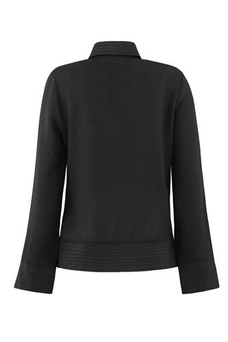 Smoothie shirt black - black from behind (shirt)