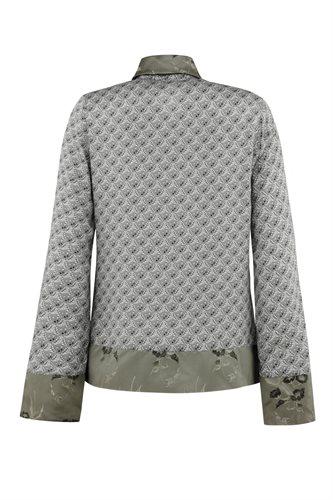 Smoothie shirt print - gray from behind (shirt)