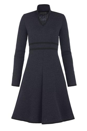 E73 Herring dress - black mix (dress)