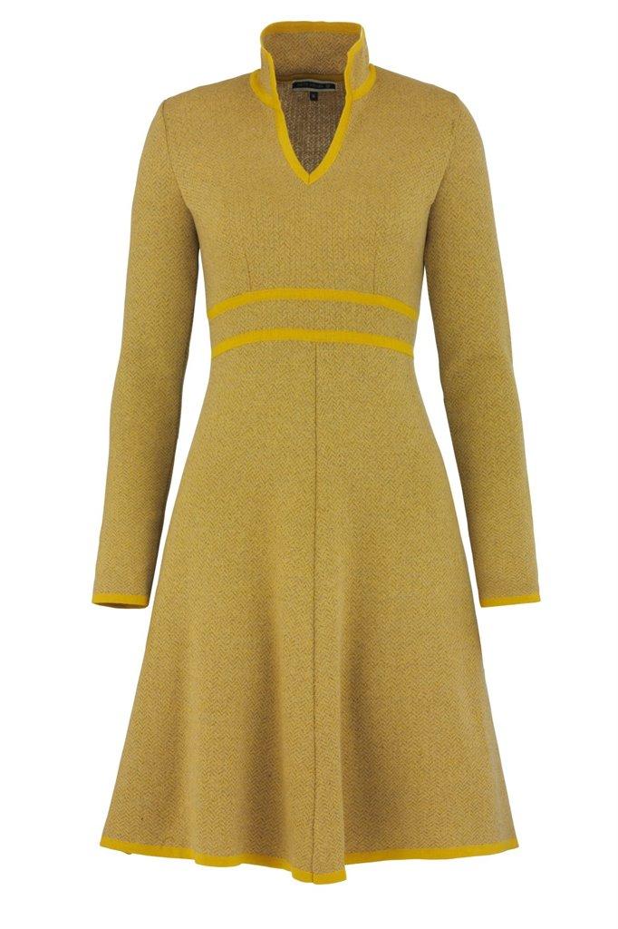 E73 Herring dress - yellow (kjole)