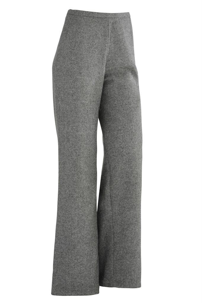 Fish wide pants - grey (bukse)