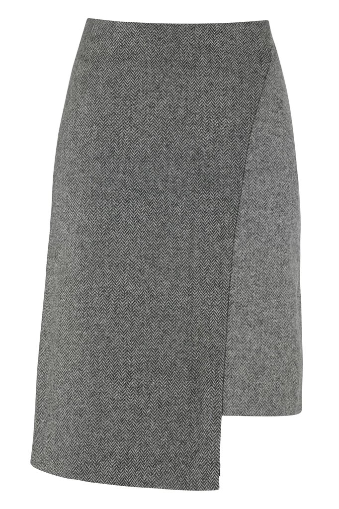 W123 Fish skirt - grey (skjørt)