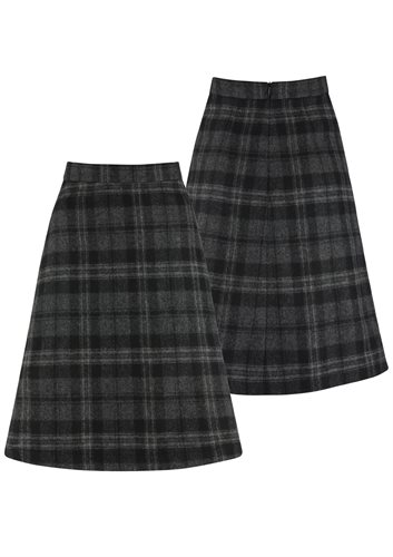 W128 The Classic A-skirt - grey (skirt)