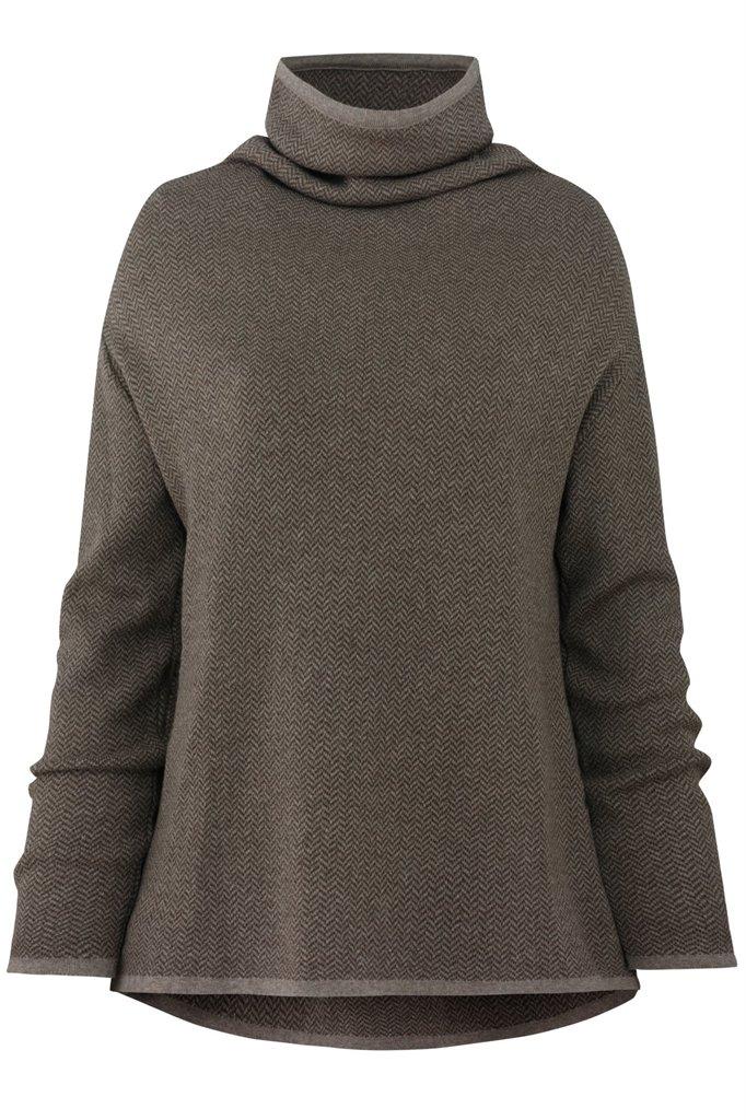 E72 Herring sweater - brown (genser)