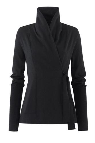 C12 Classic wrap jacket - black (jacket/cardigan)
