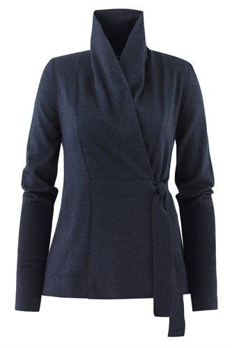 C12 Classic wrap jacket - mel blue (jacket/cardigan)