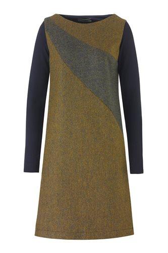 W121 Fish wide dress - yellow (dress)
