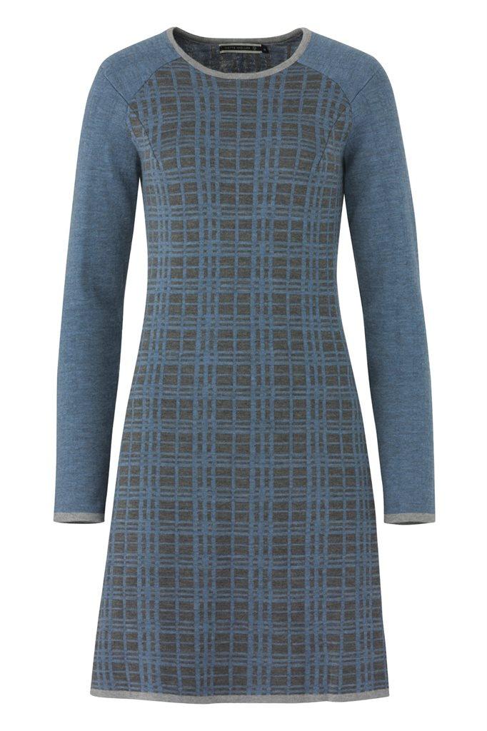 E63 CrissCross dress - blue mix (kjole)