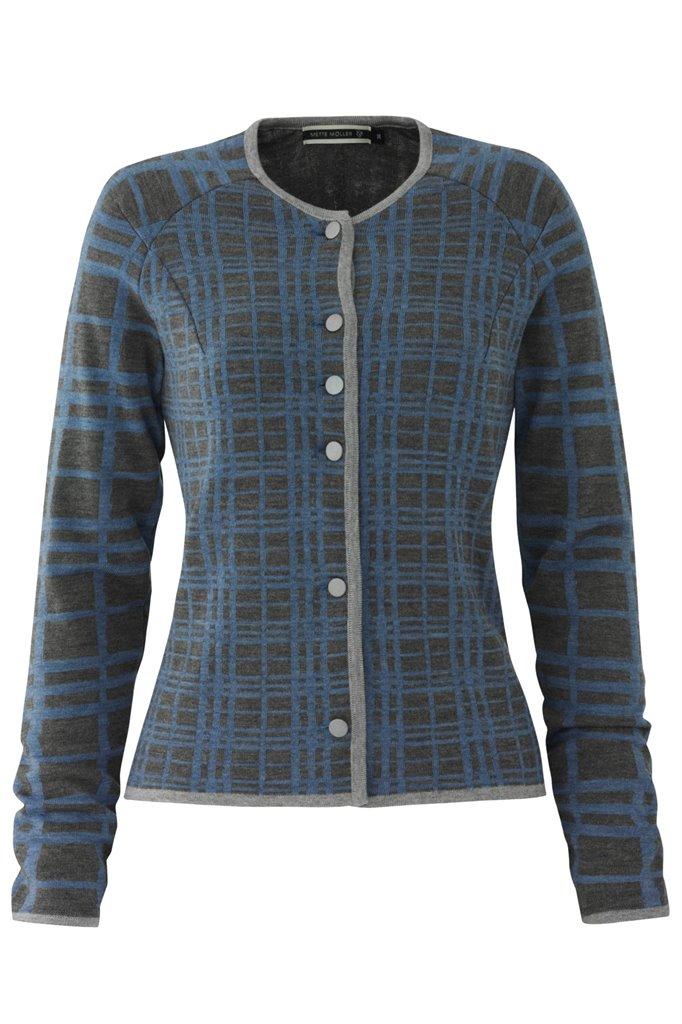 E66 CrissCross jacket - blue mix (jakke)