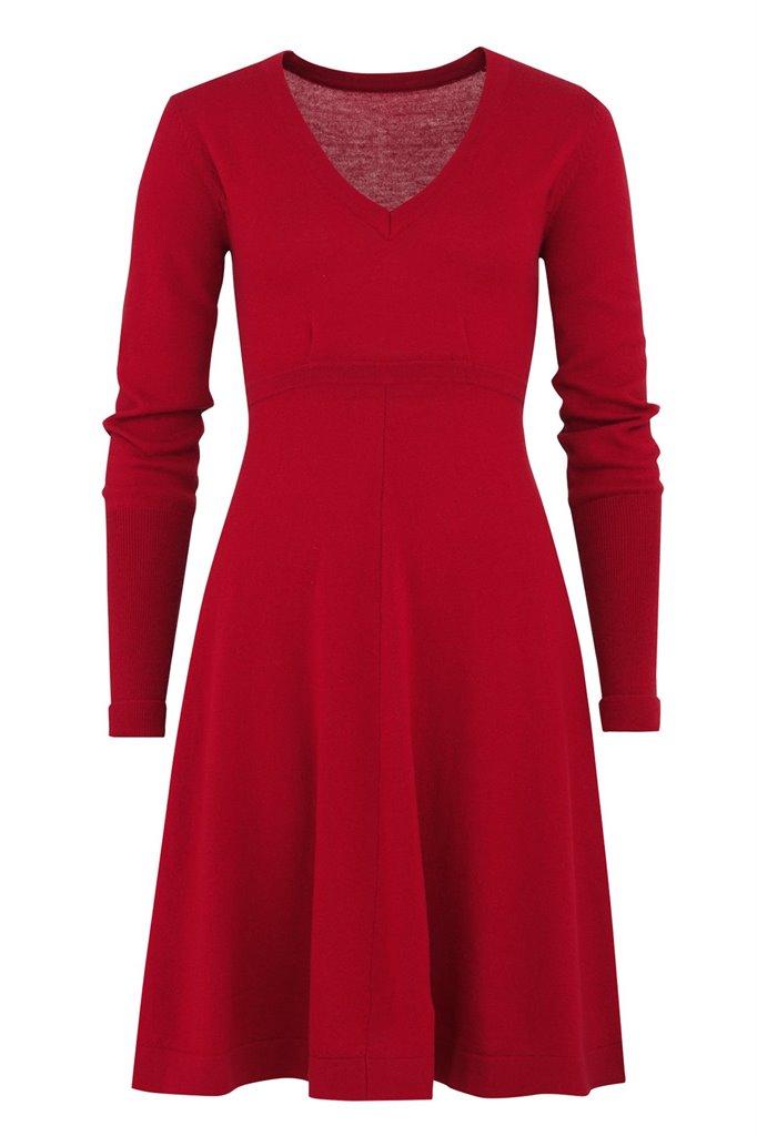 C1 Classic dress 2015 - true red (kjole)