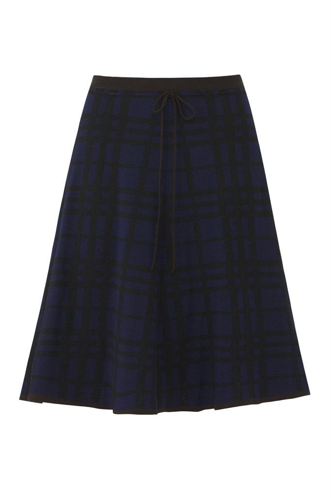 E67 CrissCross skirt - black mix (skjørt)