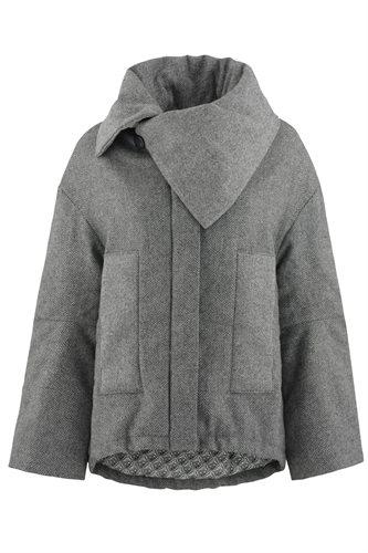 Fish jacket - grey (outerwear)
