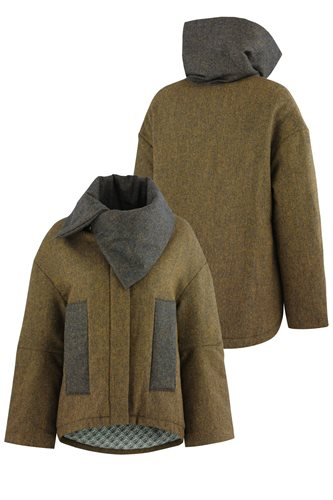 Fish jacket - yellow (outerwear)