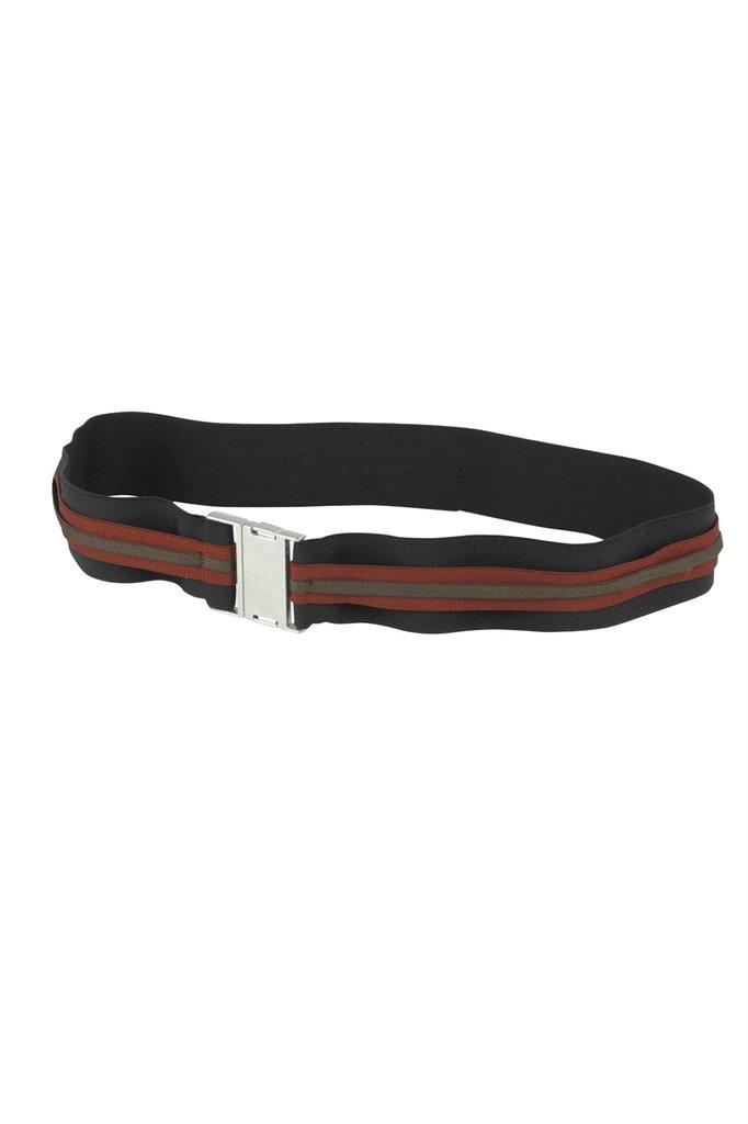 Z9 Big strips belt - black/ rust (annet)