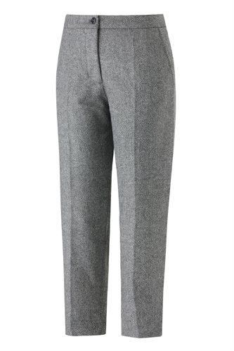 W130 Fish cropped pants - gray fish (pants/shorts)