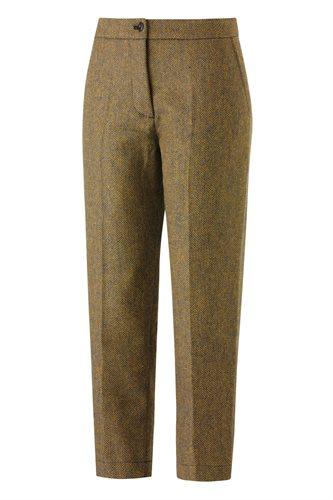 W130 Fish cropped pants - yellow fish (pants/shorts)
