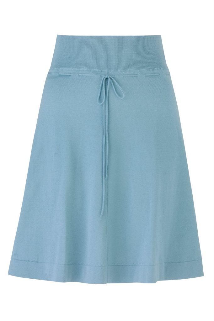 C19 Classic wide skirt - mint (skjørt)