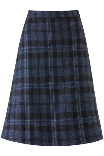 W128 The Classic A-skirt - blue (skirt)
