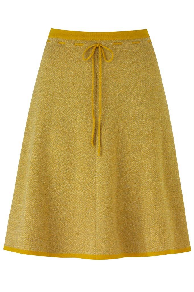 E74 Herring skirt - yellow (skjørt)
