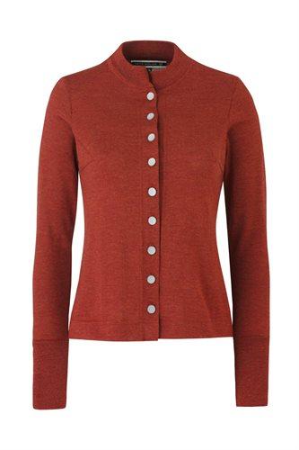 C15 Evies Cardigan - rust (jacket/cardigan)