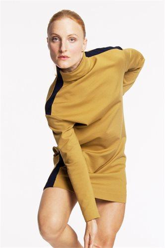 Kill Bill sweat dress - mustard (dress)
