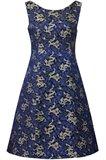 china dress - blue (kjole)