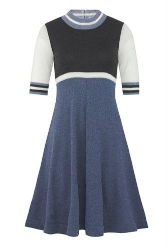 Striped dress - grey (dress)