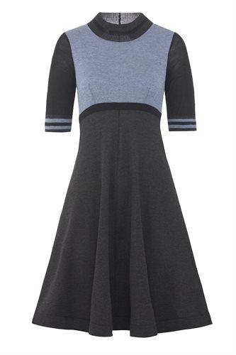 Striped dress - blue (dress)