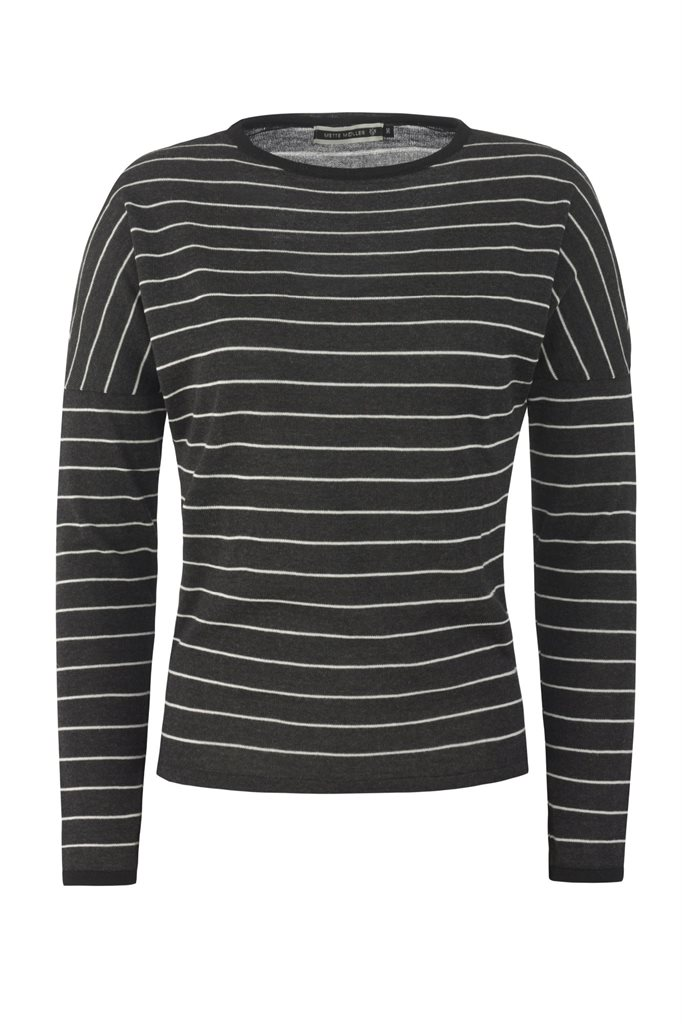 Striped sweat - grey (genser)