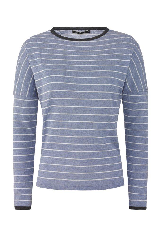 Striped sweat - blue (genser)