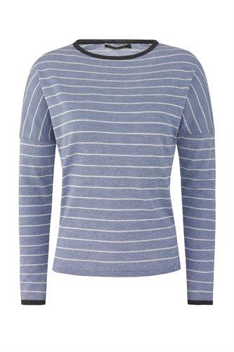 Striped sweat - blue (sweater)
