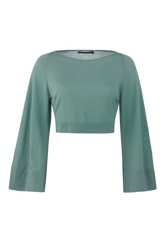 Magnolia sweater - green (genser)