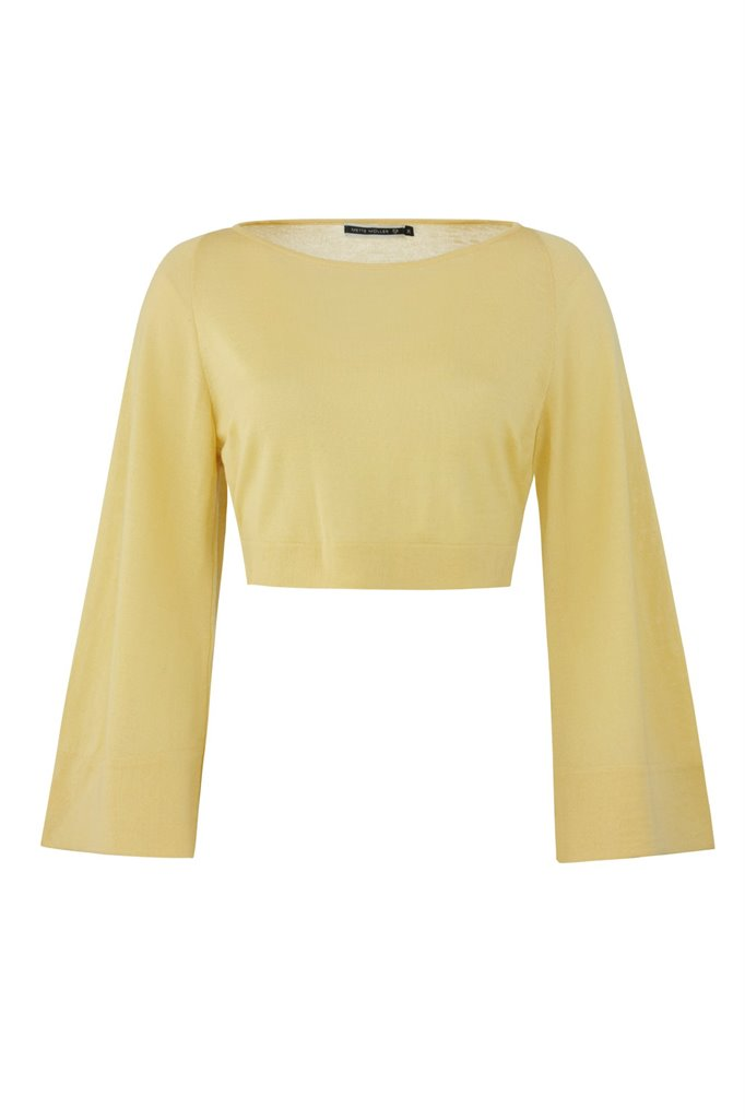 Magnolia sweater - yellow (genser)