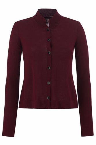 Almost C cardigan - zinfandel (jacket/cardigan)