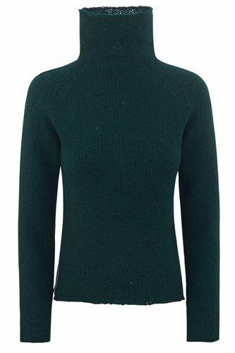 Little Lamb sweater - bottle and garnet - bottle (sweater)