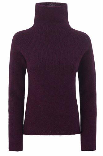 Little Lamb sweater - bottle and garnet - yarn (sweater)