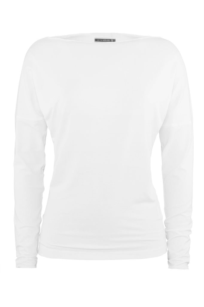 Fluid sweat - white (genser)