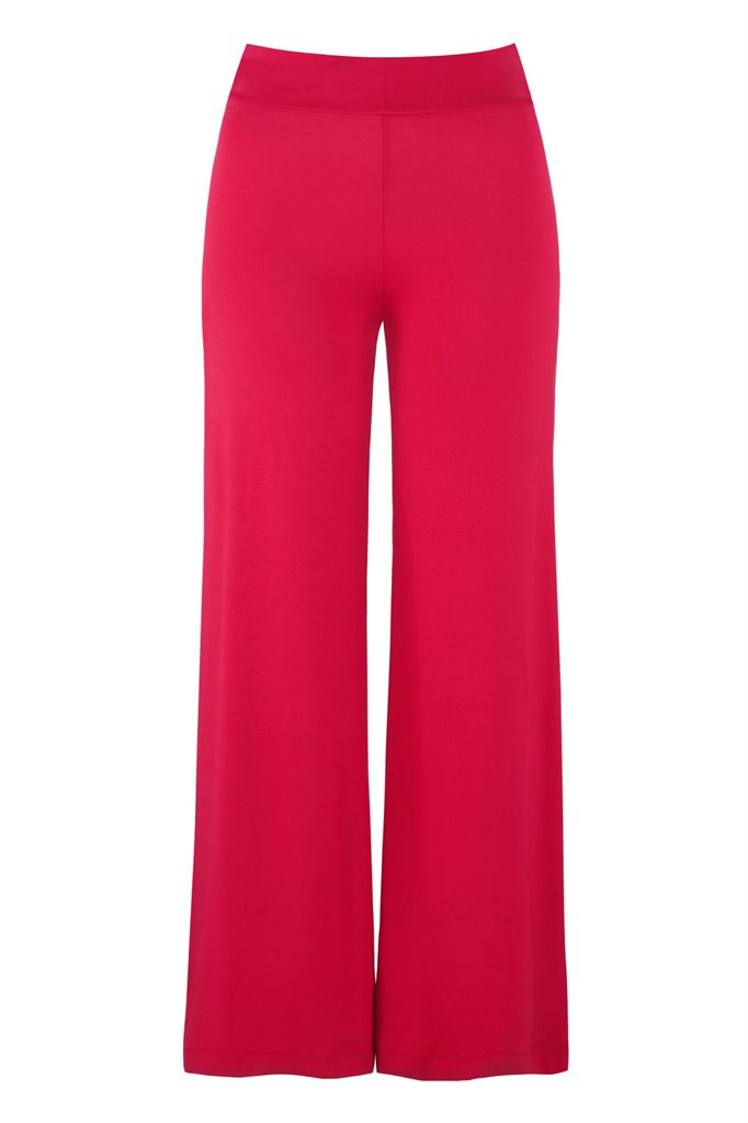 Fluid trousers - red (bukse)