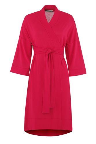 Fluid Kimono dress - red (dress)