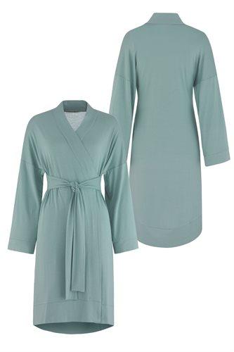 Fluid Kimono dress - mint (dress)